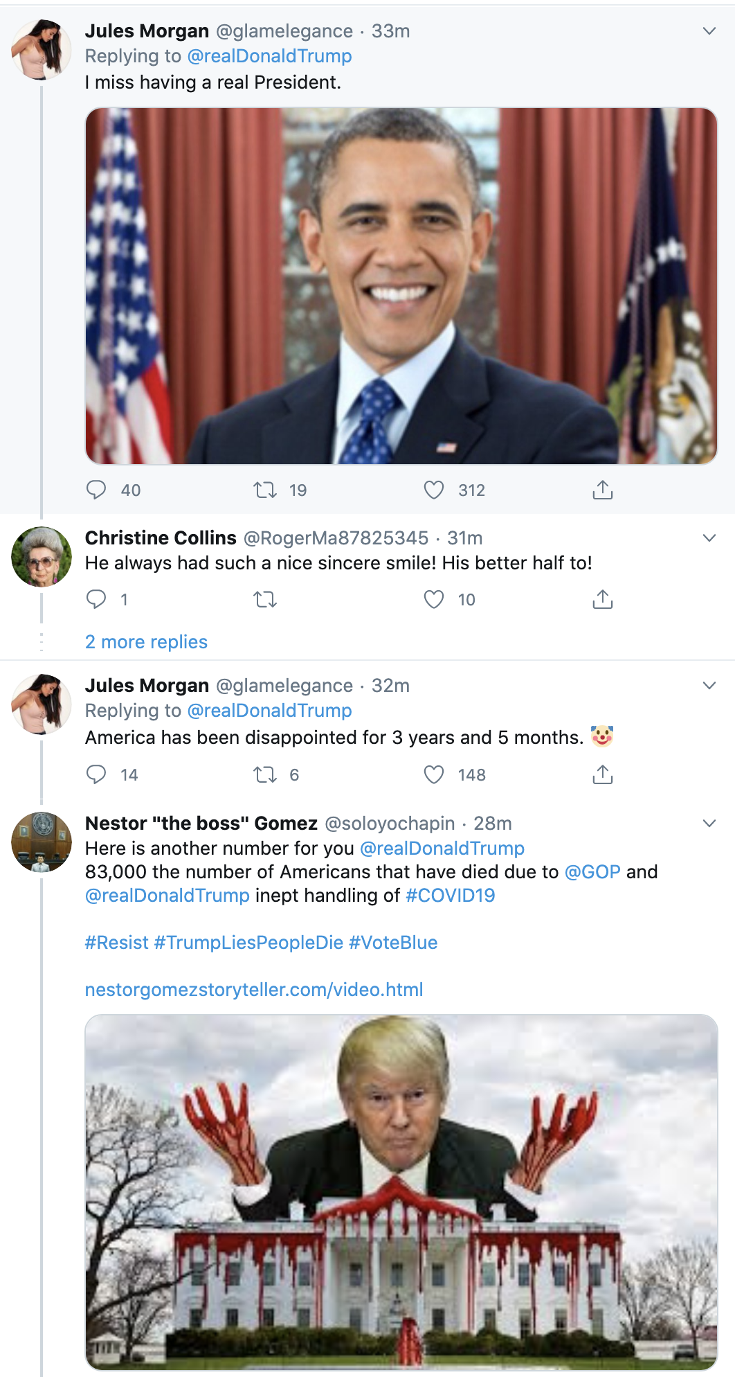 Screen-Shot-2020-05-14-at-8.22.53-AM Trump Touts Unreliable Vaccine Tests On Twitter Coronavirus Featured Politics Top Stories Women's Rights