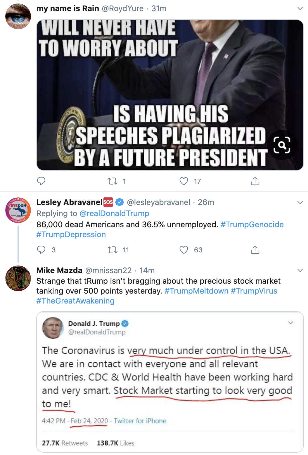 Screen-Shot-2020-05-14-at-8.24.34-AM Trump Touts Unreliable Vaccine Tests On Twitter Coronavirus Featured Politics Top Stories Women's Rights