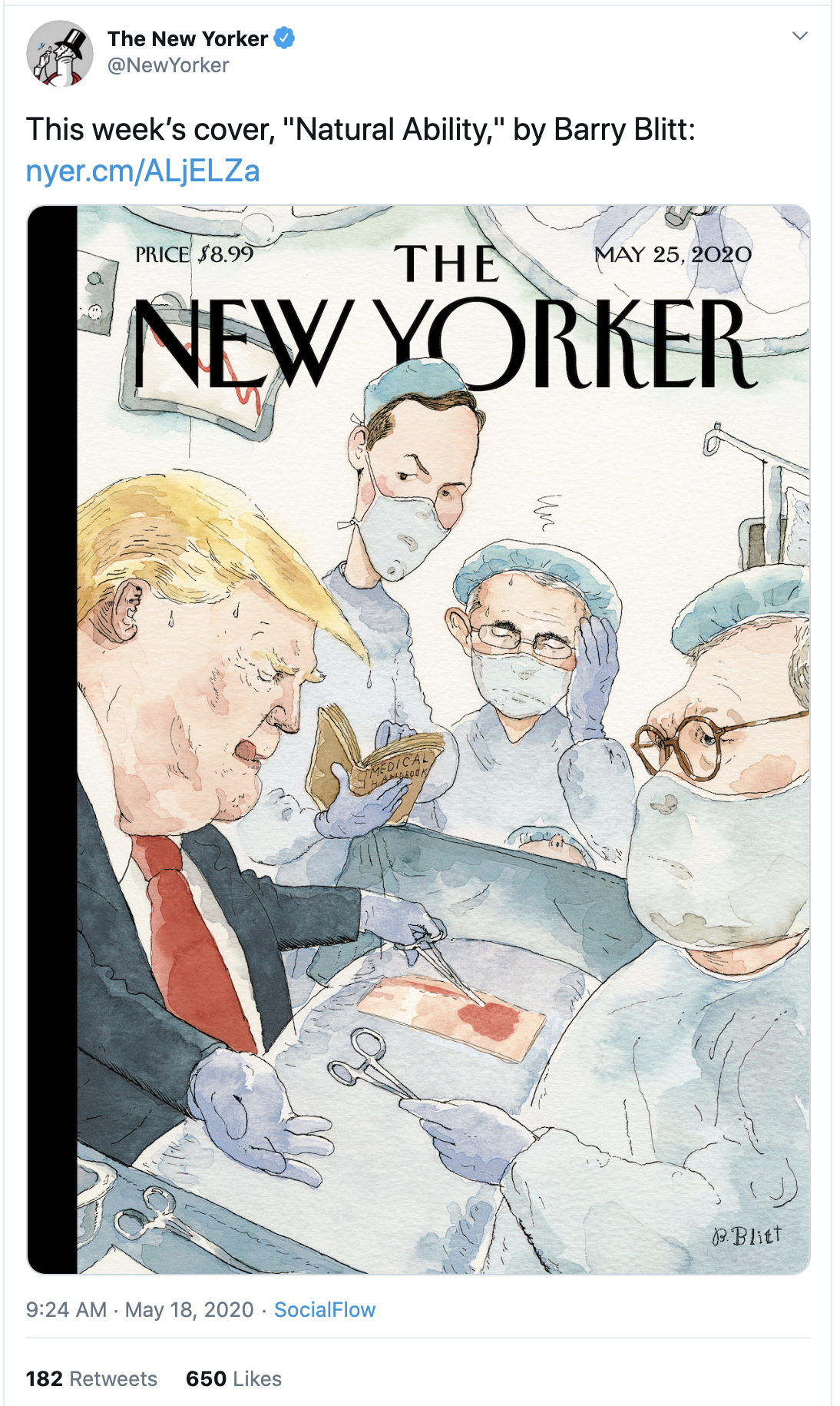 Screen-Shot-2020-05-18-at-9.54.58-AM Latest 'New Yorker' Cover Image Inspired By Trump Coronavirus Featured Media Politics Top Stories