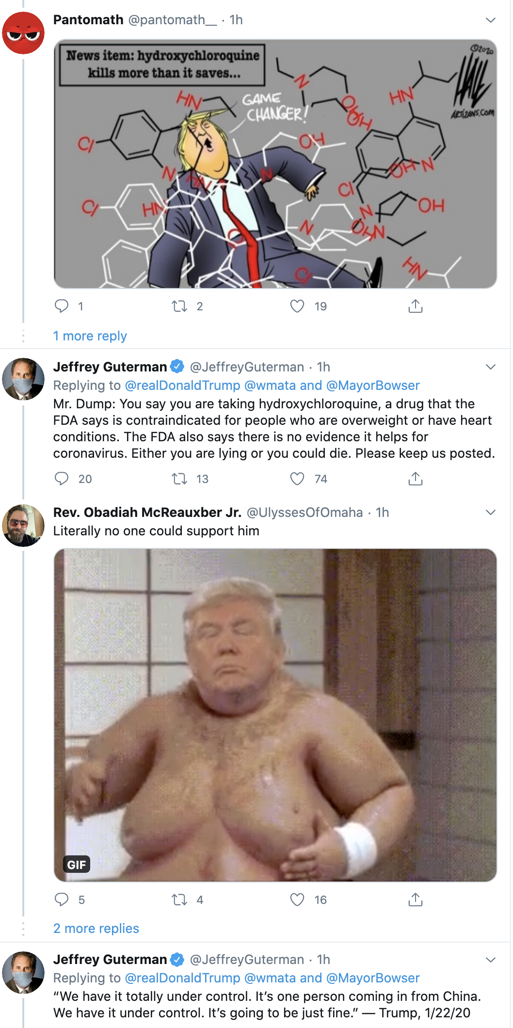 Screen-Shot-2020-05-19-at-12.30.43-PM Trump Delivers More Unnerving Tuesday Afternoon Tweets Coronavirus Election 2020 Featured Politics Top Stories