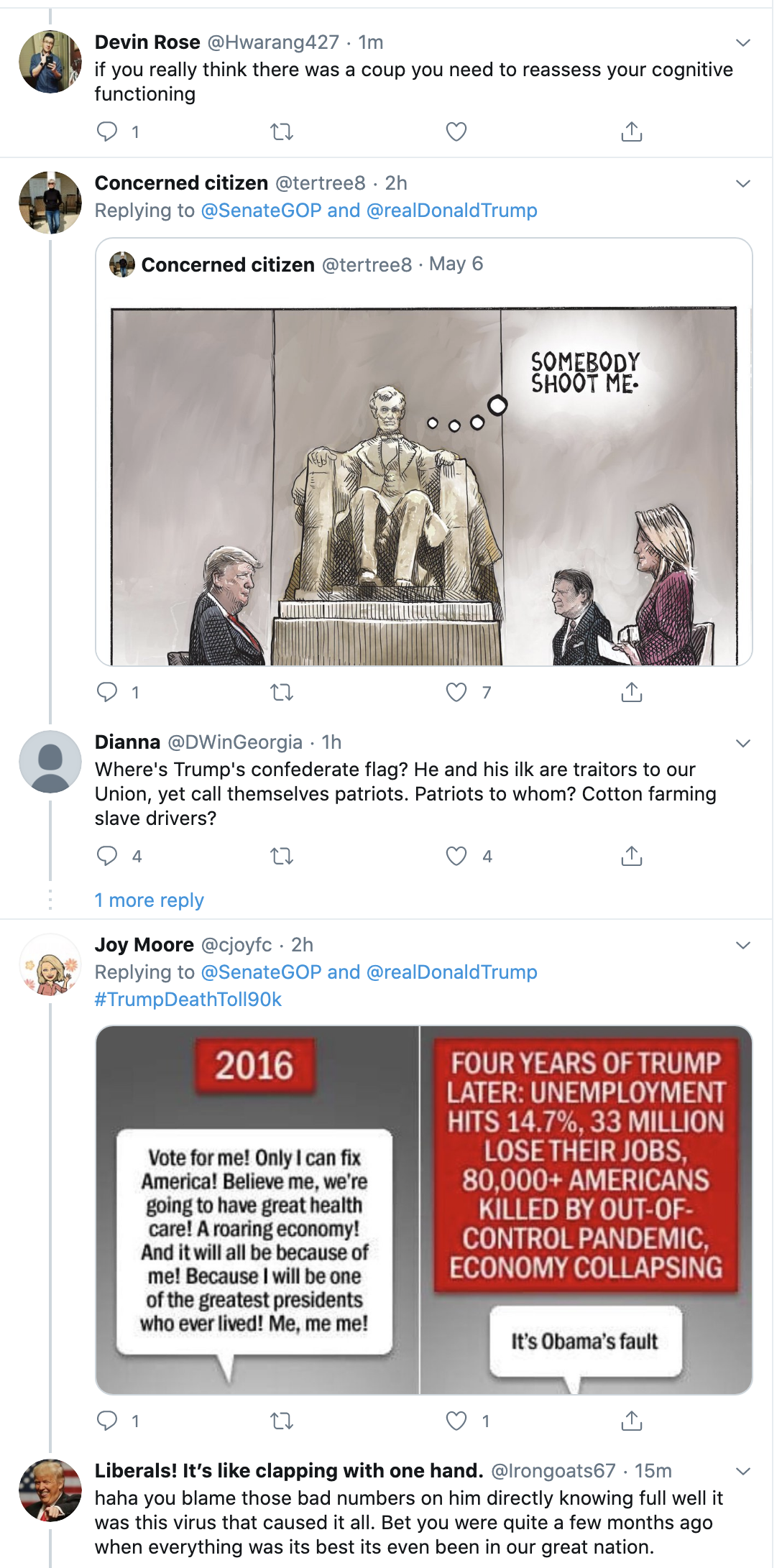 Screen-Shot-2020-05-19-at-2.06.28-PM Trump Mocked After Tweeting Ridiculous Video For Himself Coronavirus Election 2020 Featured Politics Top Stories