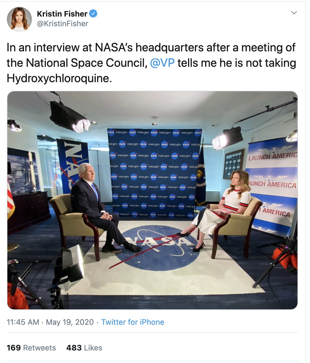 Screen-Shot-2020-05-19-at-2.56.13-PM Pence Refuses To Drink Trump's Hydroxychloroquine Kool-Aid Corruption Election 2020 Featured Politics Top Stories
