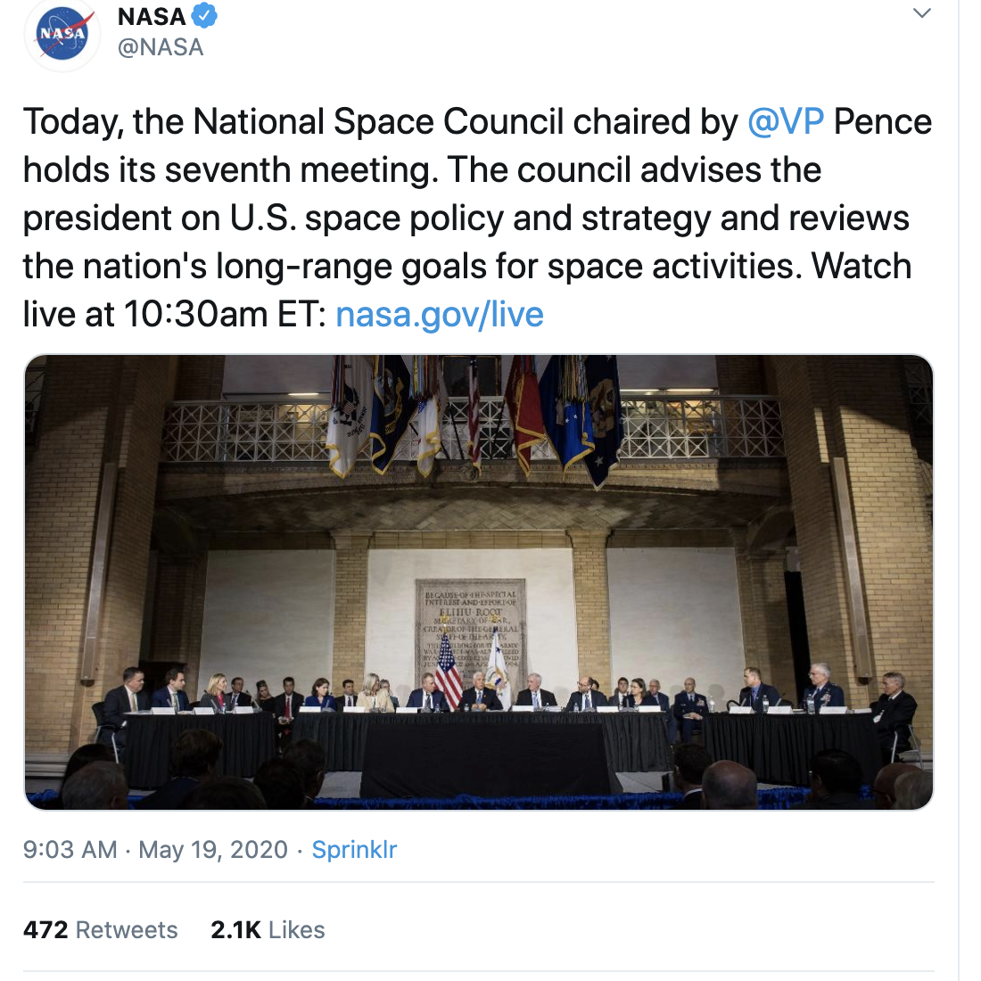Screen-Shot-2020-05-19-at-3.53.09-PM Pence Refuses To Drink Trump's Hydroxychloroquine Kool-Aid Corruption Election 2020 Featured Politics Top Stories