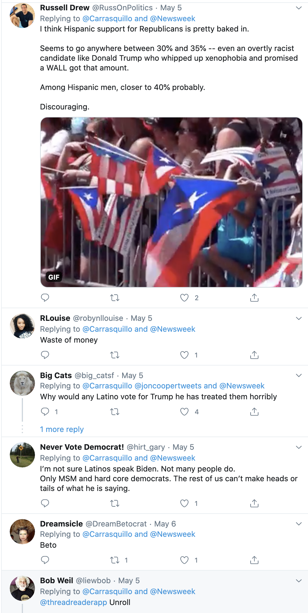 Screen-Shot-2020-05-20-at-2.01.08-PM Trump Vs Biden 'Latino Voter Poll' Results Have Republicans In Panic Election 2020 Featured Politics Polls Top Stories
