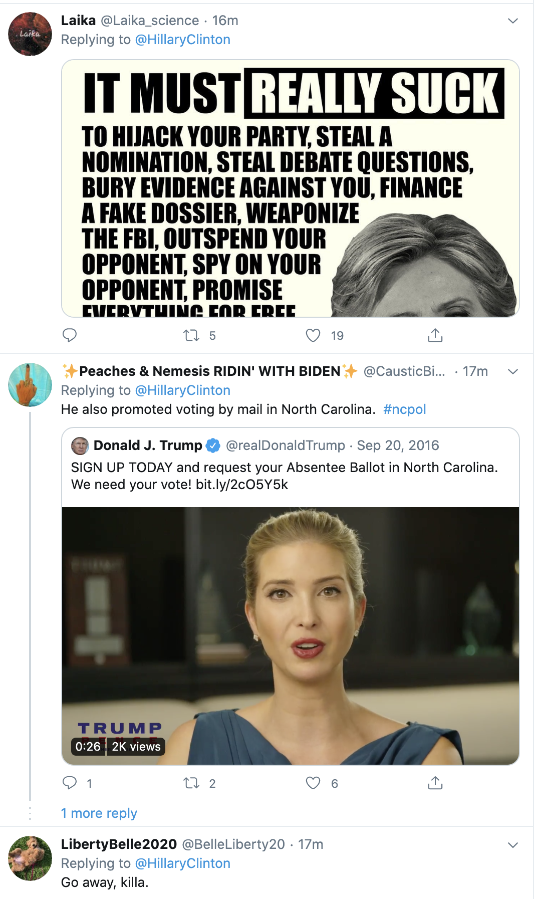 Screen-Shot-2020-05-21-at-1.04.02-PM Hillary Steamrolls Trump With Fact Check Of Vote By Mail Lies Coronavirus Election 2020 Featured Politics Top Stories