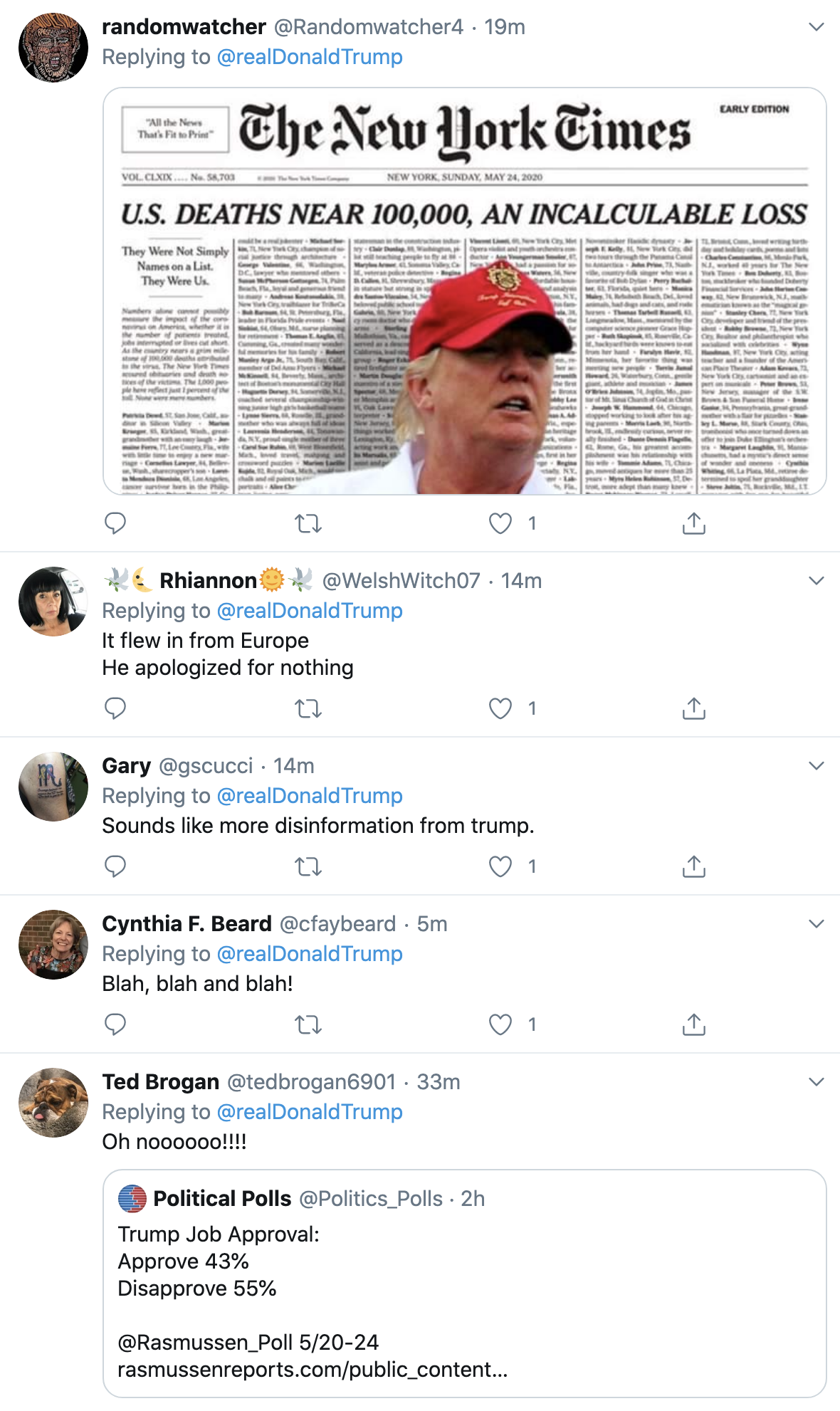 Screen-Shot-2020-05-25-at-3.44.24-PM Trump Spazzes Into 3-Tweet Afternoon Attack On Joe Biden Coronavirus Election 2020 Featured Politics Top Stories