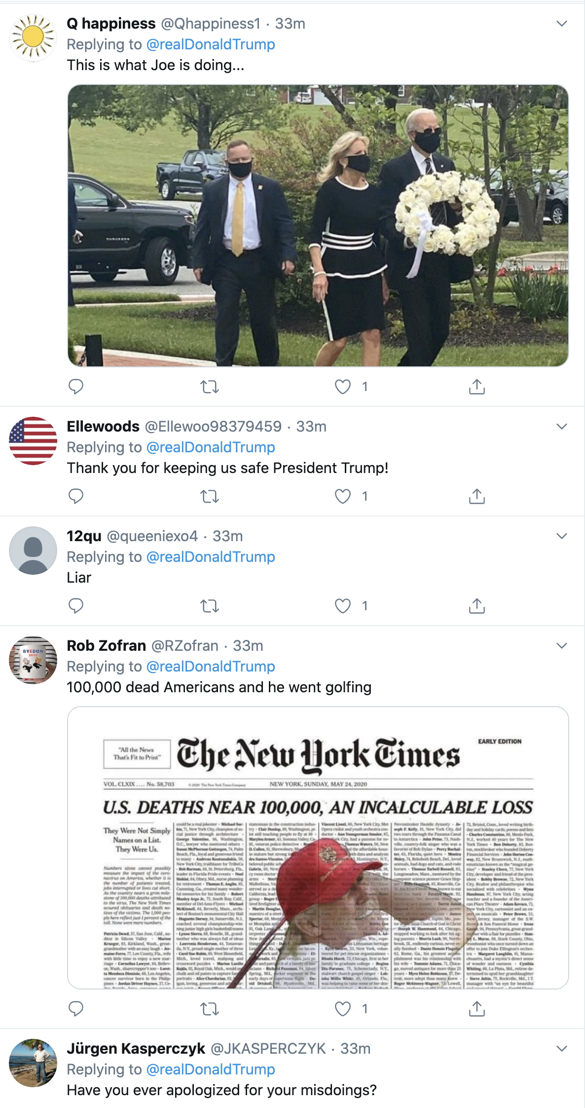 Screen-Shot-2020-05-25-at-3.44.37-PM Trump Spazzes Into 3-Tweet Afternoon Attack On Joe Biden Coronavirus Election 2020 Featured Politics Top Stories