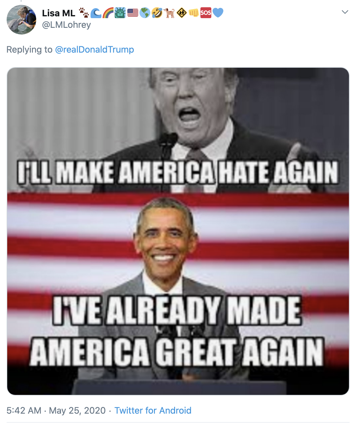 Screen-Shot-2020-05-25-at-7.41.22-AM Trump Suffers Early Morning 7 Tweet Explosion Of Insanity Coronavirus Election 2020 Featured Politics Top Stories