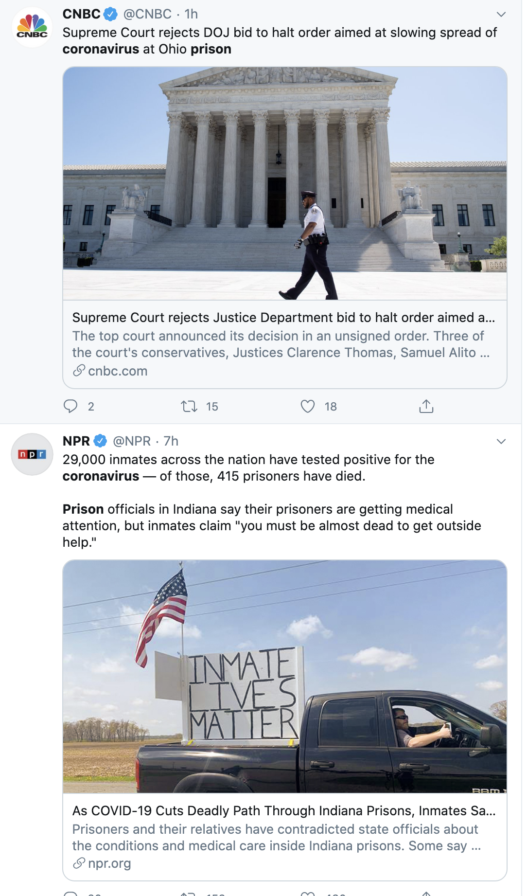 Screen-Shot-2020-05-26-at-3.11.11-PM Supreme Court Defies Trump & Rules Against Him On COVID-19 Coronavirus Crime Politics Racism Top Stories