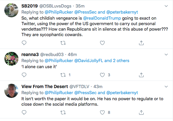 Screen-Shot-2020-05-27-at-7.15.49-PM Executive Order Against Twitter & 'Social Media' Announced By W.H. Conspiracy Theory Donald Trump Featured Politics Social Media The Internet Top Stories
