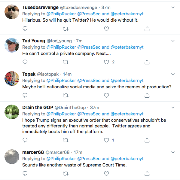 Screen-Shot-2020-05-27-at-7.16.27-PM Executive Order Against Twitter & 'Social Media' Announced By W.H. Conspiracy Theory Donald Trump Featured Politics Social Media The Internet Top Stories