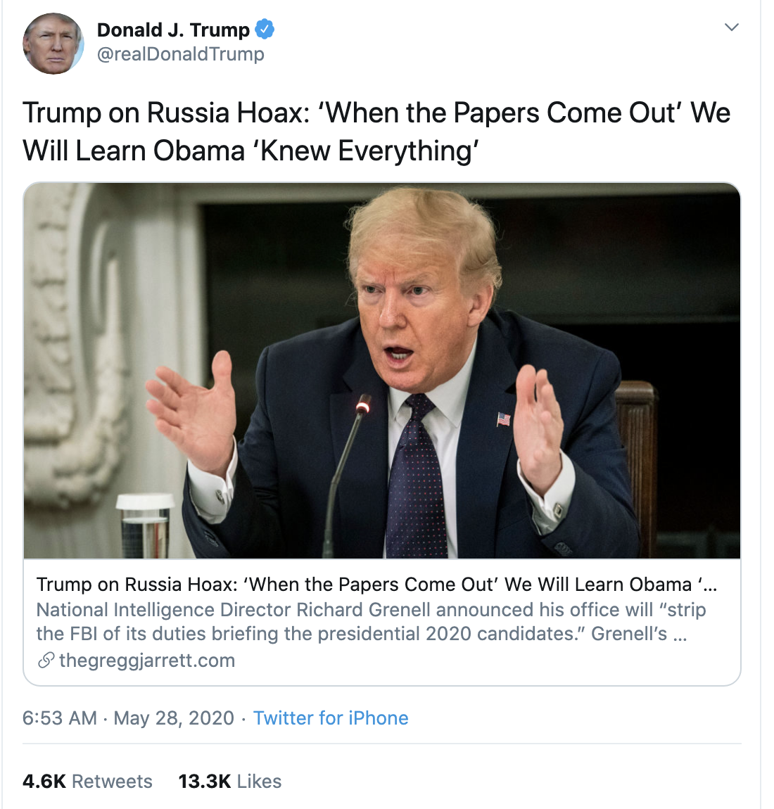 Screen-Shot-2020-05-28-at-7.15.15-AM Trump Accuses Obama Of New Crime During Pre-Dawn Emotional Collapse Coronavirus Election 2020 Featured Top Stories