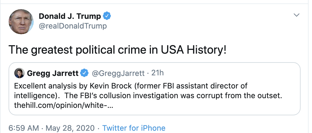 Screen-Shot-2020-05-28-at-7.19.11-AM Trump Accuses Obama Of New Crime During Pre-Dawn Emotional Collapse Coronavirus Election 2020 Featured Top Stories