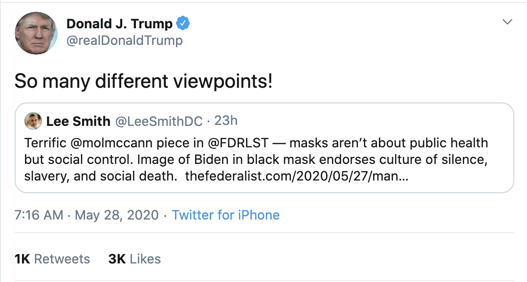 Screen-Shot-2020-05-28-at-7.20.44-AM Trump Accuses Obama Of New Crime During Pre-Dawn Emotional Collapse Coronavirus Election 2020 Featured Top Stories