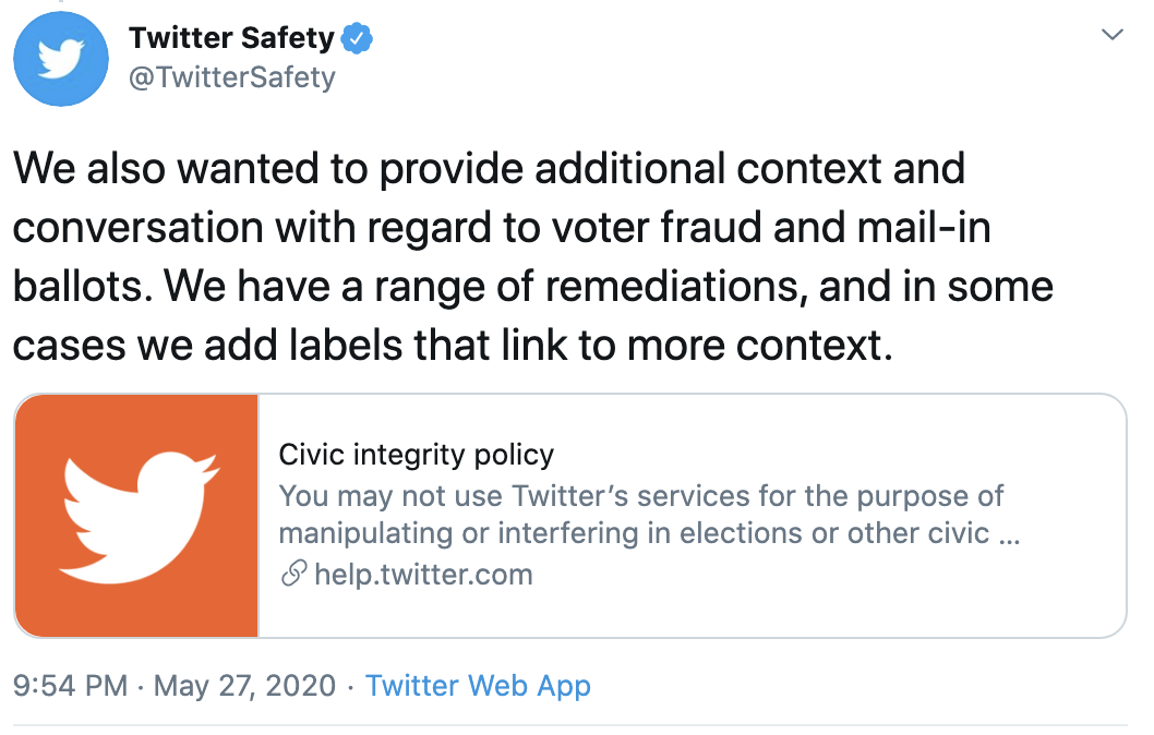 Screen-Shot-2020-05-28-at-9.05.11-AM Twitter Announces 'New Label' For Trump Fact Check That Has Donald Crazy Corruption Featured Politics Top Stories