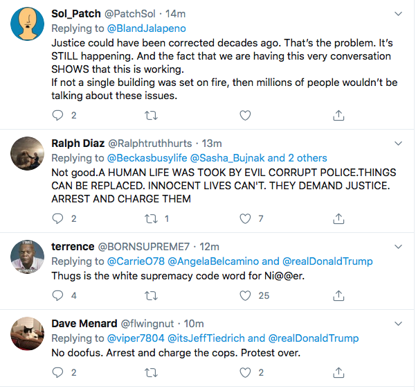 Screen-Shot-2020-05-29-at-7.42.27-AM Trump Threatens 'THUGS' & 'Twitter' During Pre-Dawn Emotional Collapse Black Lives Matter Donald Trump Featured Police Misconduct Politics Protest Racism Top Stories