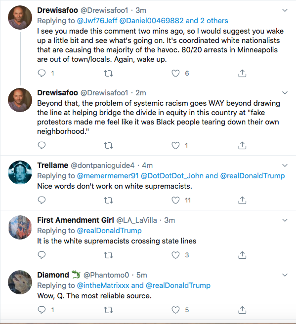 Screen-Shot-2020-05-30-at-2.33.14-PM Trump Declares Use Of 'Unlimited Military' On Protestors During Afternoon Meltdown Black Lives Matter Donald Trump Featured Politics Protest Racism Top Stories