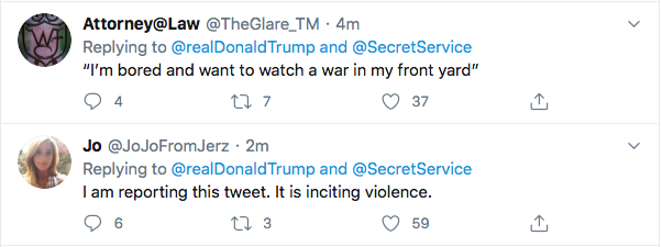 Screen-Shot-2020-05-30-at-9.43.34-AM Trump Instructs MAGA Followers To Confront Protestors Tonight At W.H. Black Lives Matter Donald Trump Featured Politics Protest Top Stories Twitter