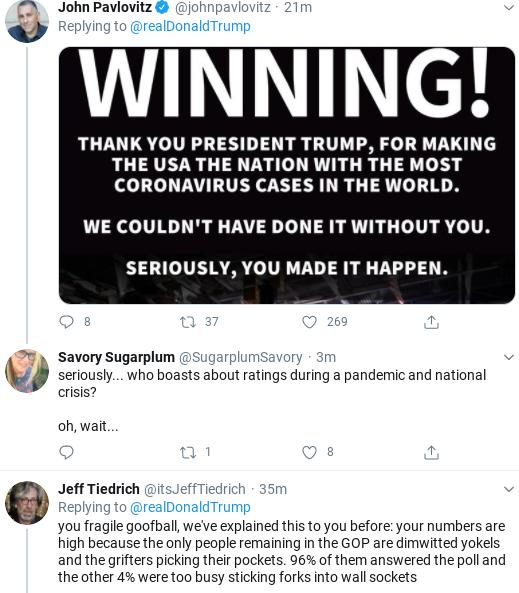 Screenshot-2020-05-02-at-9.54.59-AM Trump Has Pathetic Twitter Freakout Over Virus Testing Donald Trump Politics Social Media Top Stories
