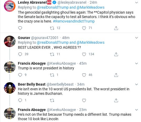 Screenshot-2020-05-02-at-9.56.18-AM Trump Has Pathetic Twitter Freakout Over Virus Testing Donald Trump Politics Social Media Top Stories