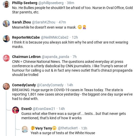 Screenshot-2020-05-18-at-11.04.32-AM CNN Reporter Rebukes Trump After He Hate-Tweets Her Donald Trump Healthcare Media Politics Social Media Top Stories