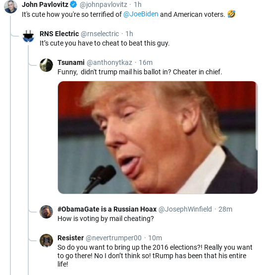 Screenshot-2020-05-20-at-10.54.26-AM Trump Snaps & Threatens American Citizens In Wild Mid-Morning Freakout Donald Trump Election 2020 Politics Social Media Top Stories