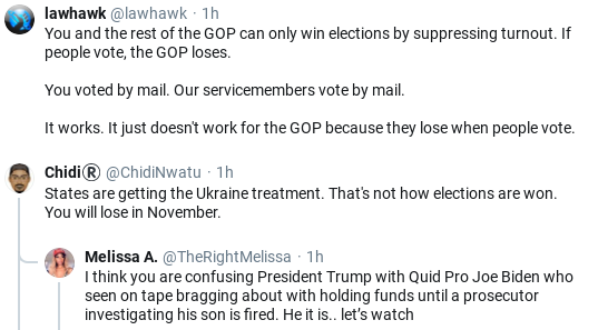 Screenshot-2020-05-20-at-10.54.37-AM Trump Snaps & Threatens American Citizens In Wild Mid-Morning Freakout Donald Trump Election 2020 Politics Social Media Top Stories