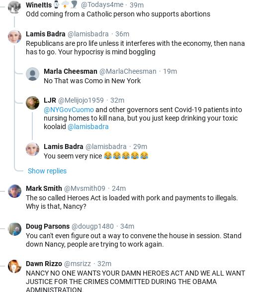 Screenshot-2020-05-20-at-4.15.06-PM Pelosi Publicly Shames Senate GOP Over Ridiculous New Subpoena Corruption Donald Trump Election 2020 Politics Social Media Top Stories