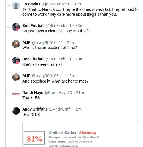 Screenshot-2020-05-20-at-4.16.33-PM Pelosi Publicly Shames Senate GOP Over Ridiculous New Subpoena Corruption Donald Trump Election 2020 Politics Social Media Top Stories