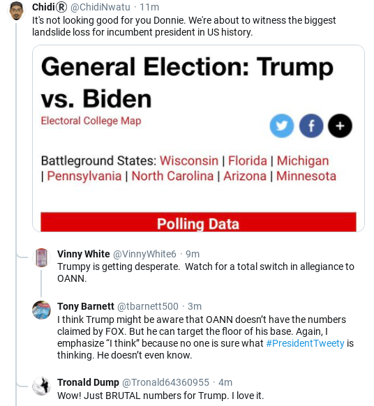 Screenshot-2020-05-22-at-11.01.31-AM Trump Sees Friday Poll Numbers & Erupts Into Fit Of Rage Donald Trump Politics Social Media Top Stories