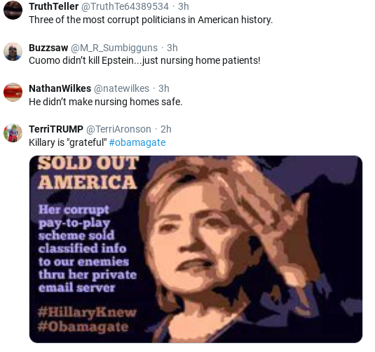 Screenshot-2020-05-25-at-1.07.06-PM Hillary's Memorial Day Message Shows America What Could Have Been Donald Trump Politics Social Media Top Stories