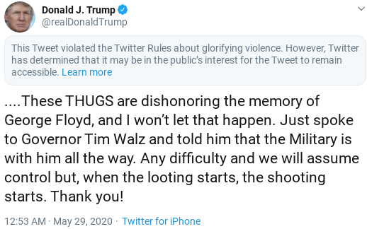 Screenshot-2020-05-29-at-3.12.46-PM Trump Offers Pathetic Backpedal After America Turns Against Him Donald Trump Politics Social Media Top Stories
