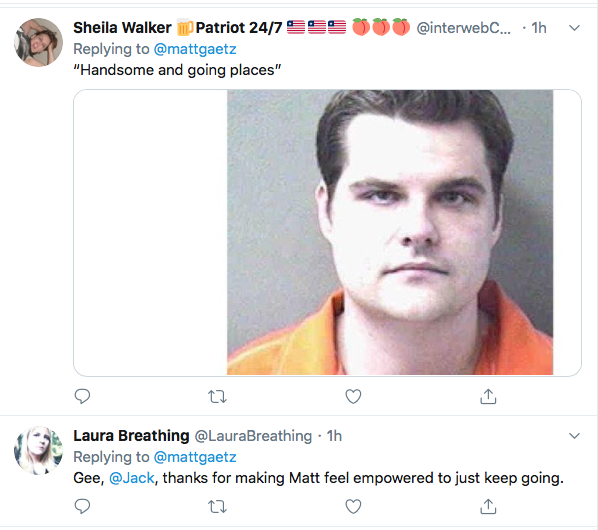Screen-Shot-2020-06-01-at-10.12.07-PM Violent Tweet From Rep. Matt Gaetz (R-FL) Removed On Twitter Conspiracy Theory Donald Trump Featured Politics Social Media Top Stories Twitter