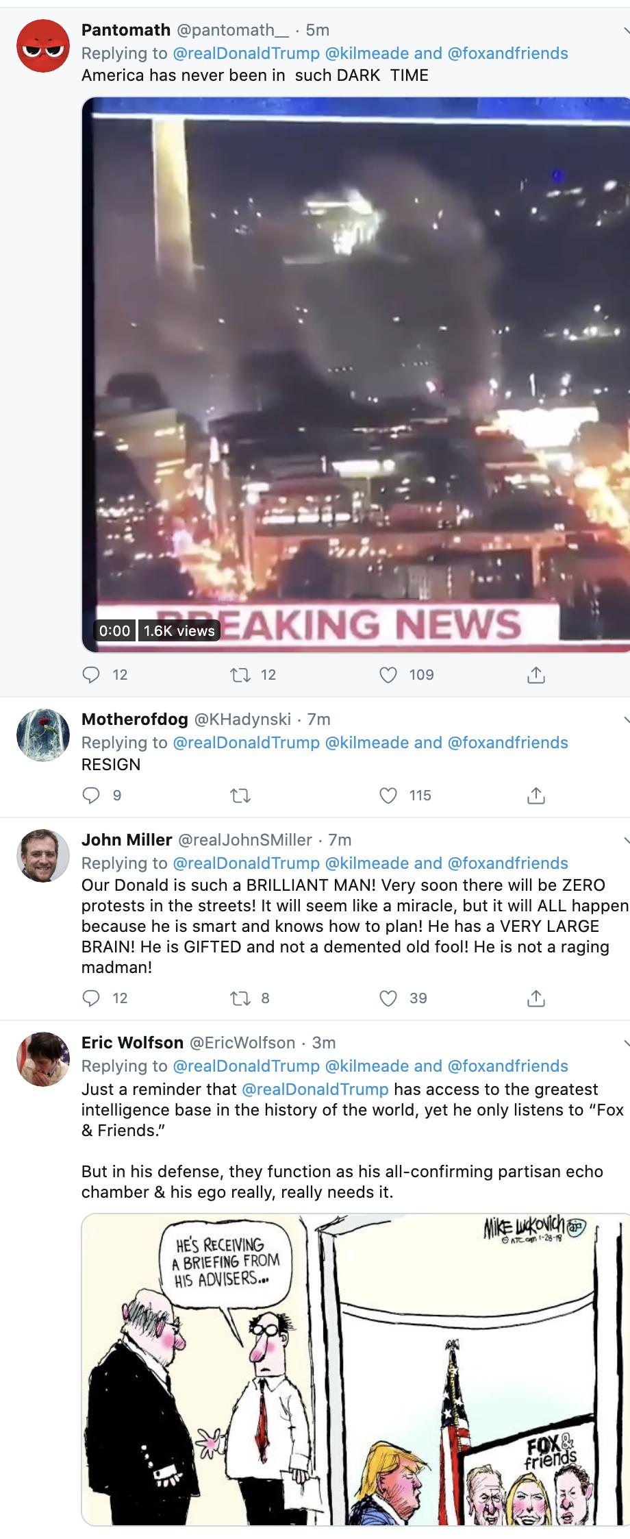 Screen-Shot-2020-06-01-at-7.33.10-AM-1 Trump Suffers Pre-Dawn Emotional Collapse Over 'ANTIFA', Biden, & Seattle Activism Black Lives Matter Featured Politics Top Stories