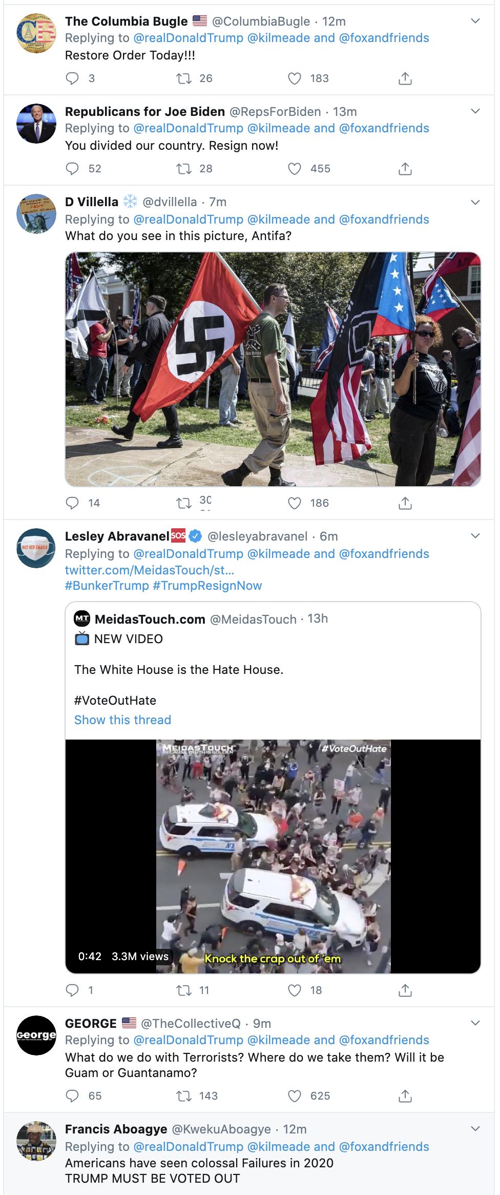 Screen-Shot-2020-06-01-at-7.34.47-AM-1 Trump Suffers Pre-Dawn Emotional Collapse Over 'ANTIFA', Biden, & Seattle Activism Black Lives Matter Featured Politics Top Stories
