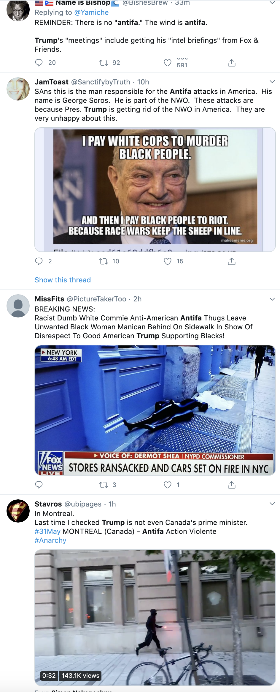 Screen-Shot-2020-06-01-at-9.02.24-AM Embarrassing Trump Administration Panic Over Protesting Leaked To 'Politico' Activism Black Lives Matter Featured Top Stories
