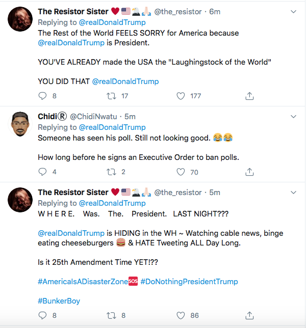 Screen-Shot-2020-06-01-at-9.37.27-AM Trump Sees Monday Polls & Begins Rage Tweeting About 'Anarchists' Like A Maniac Donald Trump Featured Politics Racism Top Stories Twitter