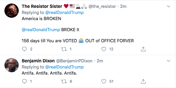 Screen-Shot-2020-06-01-at-9.37.55-AM Trump Sees Monday Polls & Begins Rage Tweeting About 'Anarchists' Like A Maniac Donald Trump Featured Politics Racism Top Stories Twitter