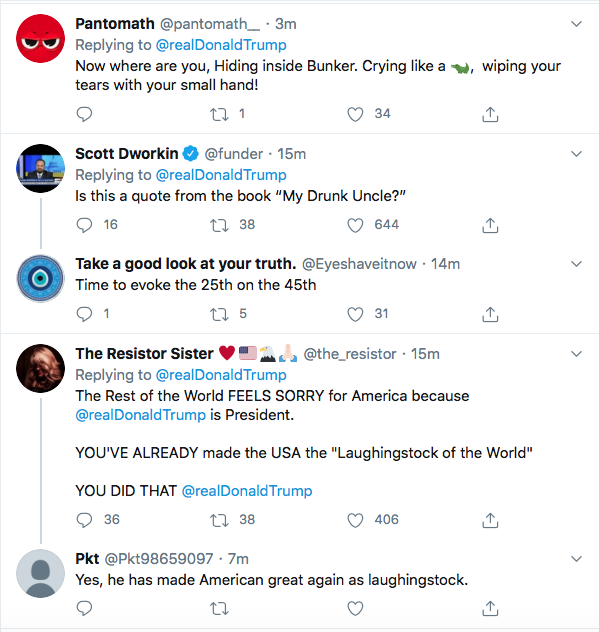 Screen-Shot-2020-06-01-at-9.38.46-AM Trump Sees Monday Polls & Begins Rage Tweeting About 'Anarchists' Like A Maniac Donald Trump Featured Politics Racism Top Stories Twitter