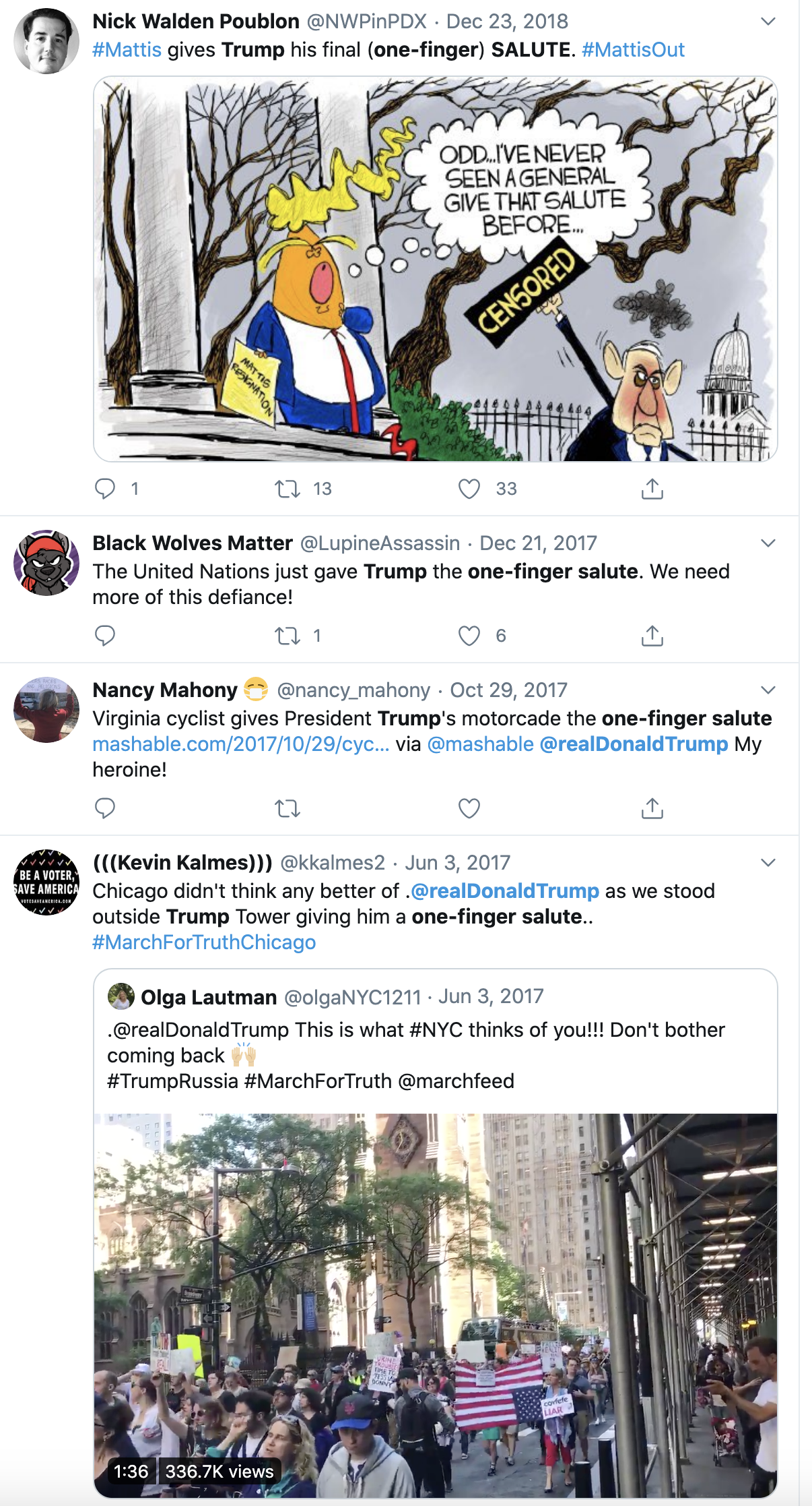 Screen-Shot-2020-06-02-at-1.01.19-PM Trump Declares Black People Love Him During Unhinged Afternoon Outburst Black Lives Matter Featured Military Politics Top Stories