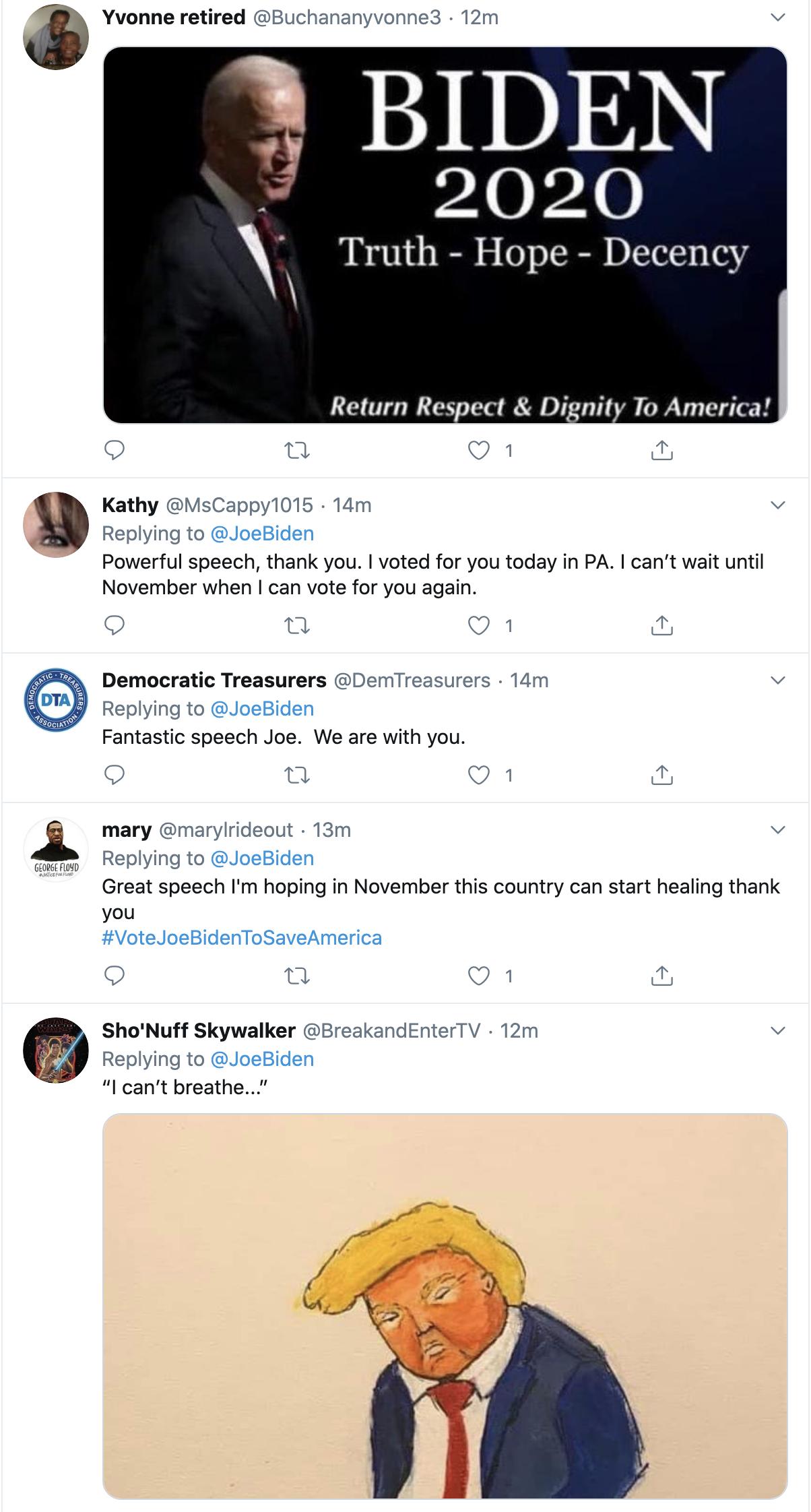 Screen-Shot-2020-06-02-at-10.02.26-AM Biden Tweets At Trump Like America's Next President Black Lives Matter Election 2020 Featured Politics Top Stories