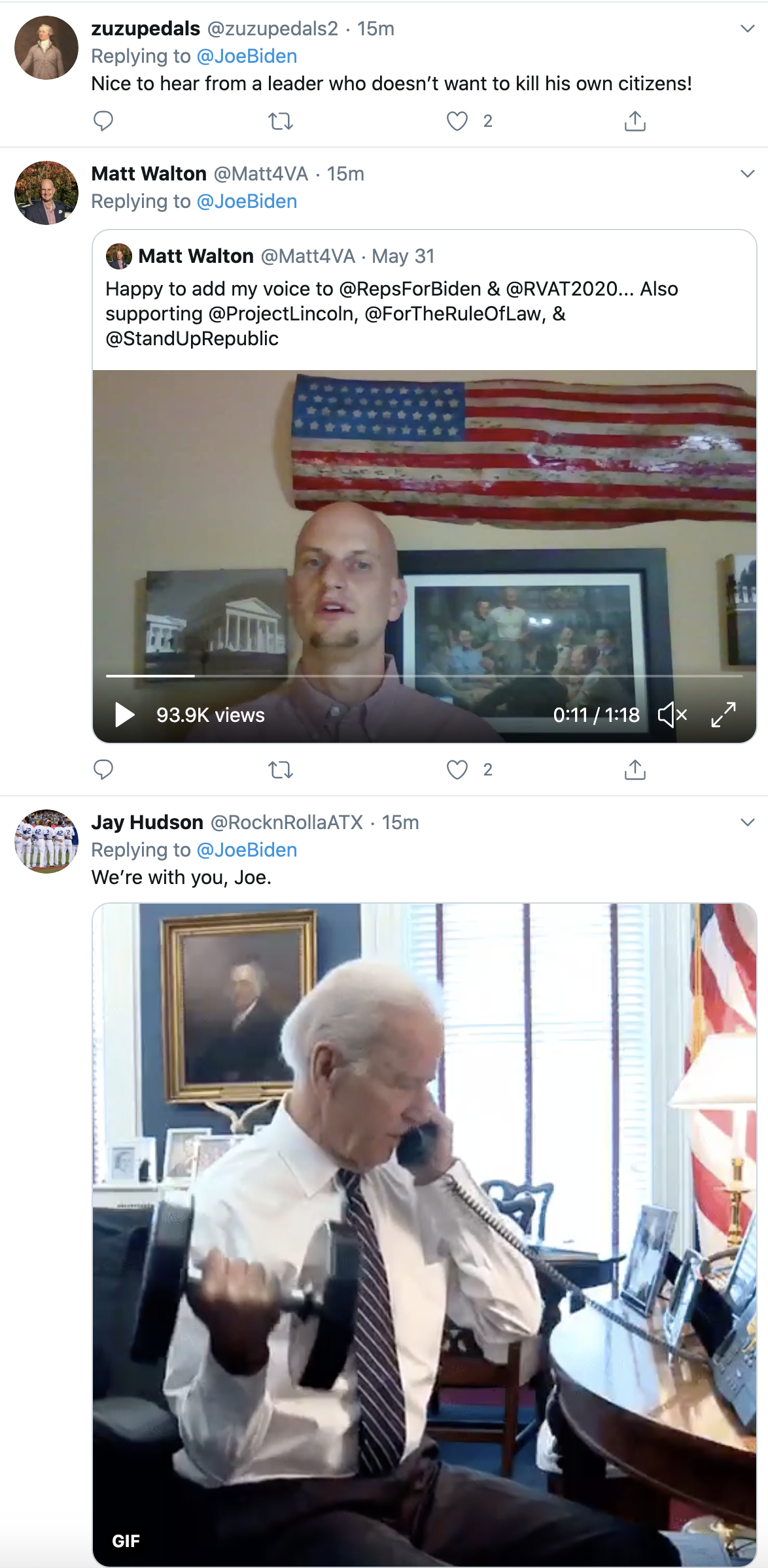 Screen-Shot-2020-06-02-at-10.02.54-AM Biden Tweets At Trump Like America's Next President Black Lives Matter Election 2020 Featured Politics Top Stories