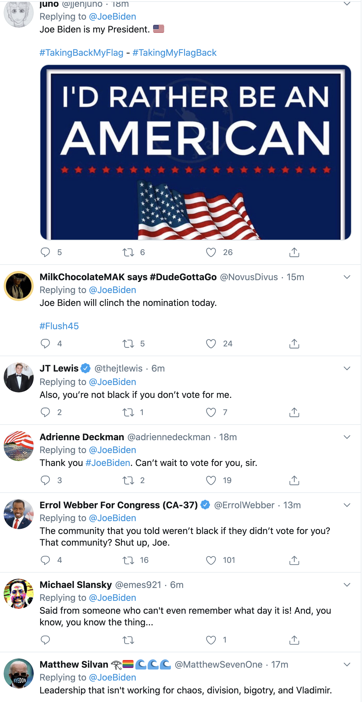 Screen-Shot-2020-06-02-at-10.03.33-AM Biden Tweets At Trump Like America's Next President Black Lives Matter Election 2020 Featured Politics Top Stories
