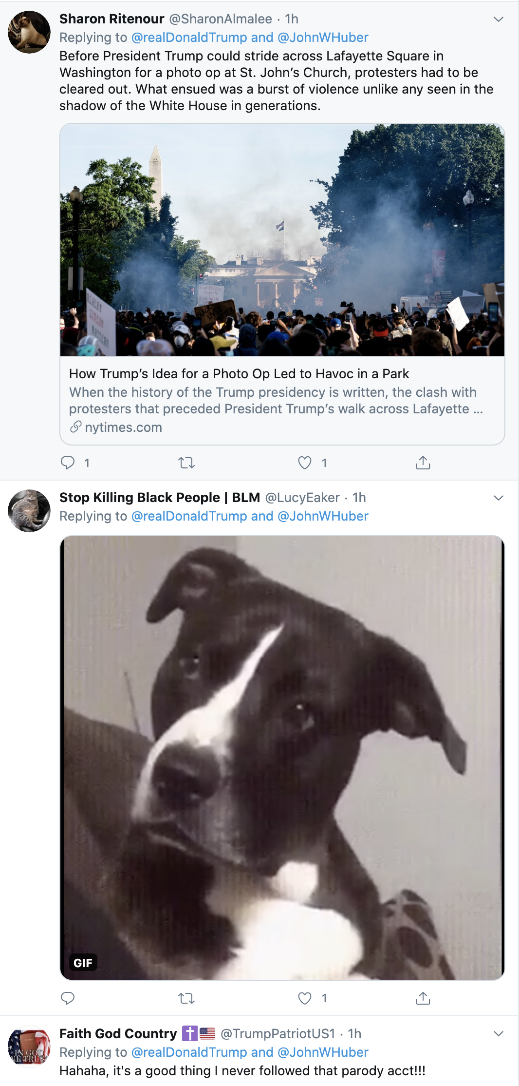 Screen-Shot-2020-06-03-at-7.21.48-AM Trump Calls Black Protestors 'Killers & Thugs' During 8 Tweet Pre-Dawn Meltdown Black Lives Matter Featured Media Politics Top Stories