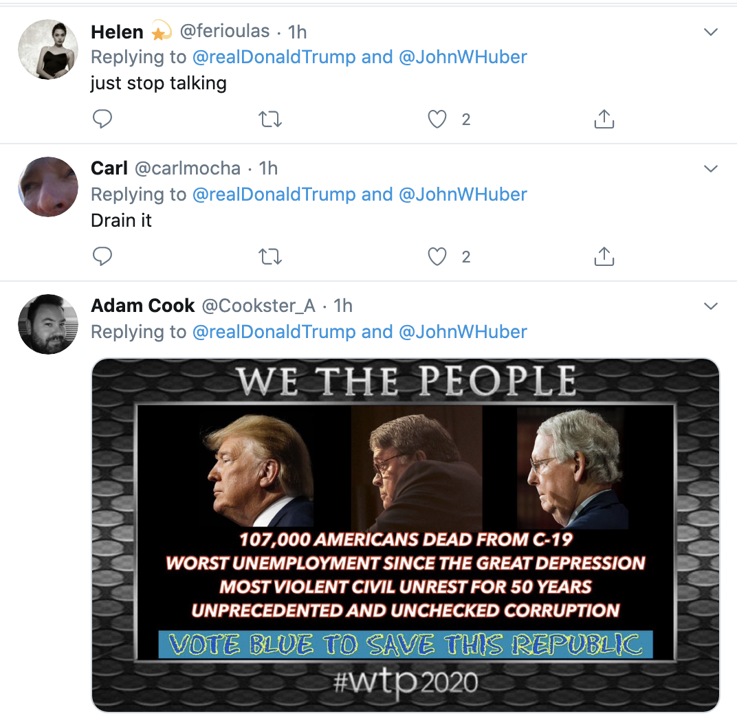 Screen-Shot-2020-06-03-at-7.23.01-AM Trump Calls Black Protestors 'Killers & Thugs' During 8 Tweet Pre-Dawn Meltdown Black Lives Matter Featured Media Politics Top Stories