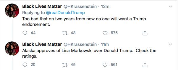 Screen-Shot-2020-06-04-at-7.50.08-PM Trump Attacks, Mattis, Murkowski, & Kelly During 10-Tweet Thursday Night Rant Donald Trump Featured Politics Top Stories Twitter