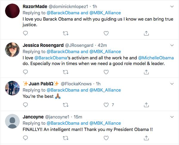 Screen-Shot-2020-06-04-at-8.27.14-PM Obama Issues 3-Tweet Instructions To America Like Our Real President Black Lives Matter Donald Trump Featured Politics Racism Top Stories Twitter