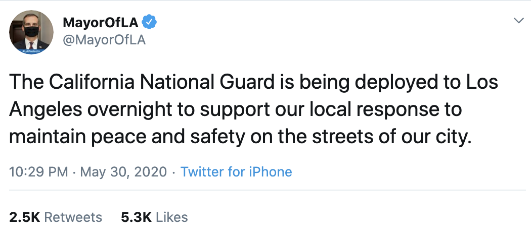 Screen-Shot-2020-06-04-at-9.31.33-AM Man Arrested For Impersonating National Guard As GOP Narrative Crumbles Crime Featured Military Politics Top Stories