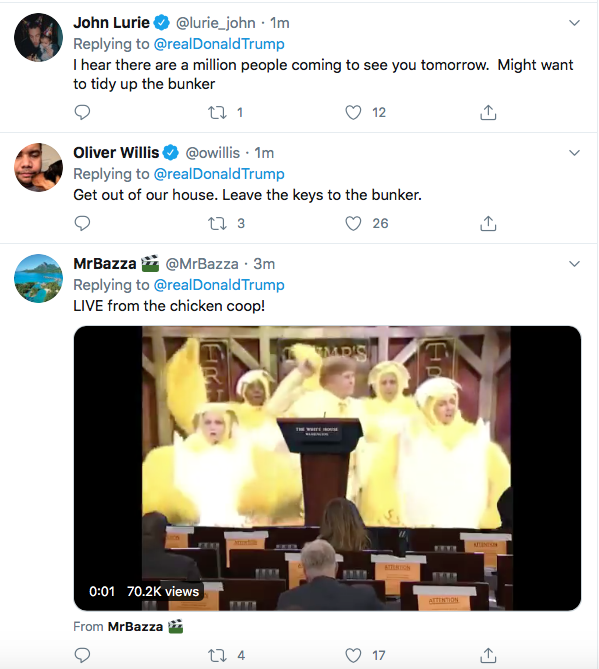 Screen-Shot-2020-06-05-at-4.12.42-PM Trump Yells 'No Kneeling' At Drew Brees During Friday Protest Meltdown Black Lives Matter Donald Trump Featured Politics Racism Top Stories Twitter