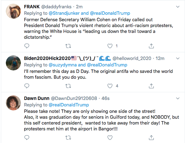 Screen-Shot-2020-06-06-at-8.20.09-AM Trump Calls Black Protestors 'Wacko & Anarchists' During Pre-Dawn Meltdown Black Lives Matter Donald Trump Featured Politics Top Stories Twitter